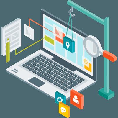 طرحی وب سایت - نوین راهکار تات